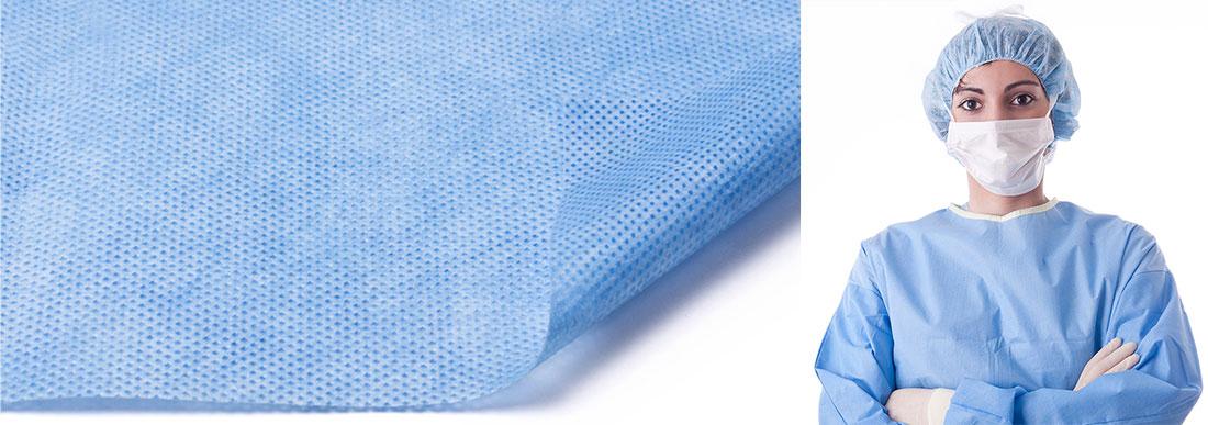 Нетканые материалы для одноразовой одежды и другой продукции