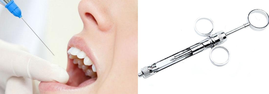 Шприцы карпульные и другие расходные материалы для стоматологии