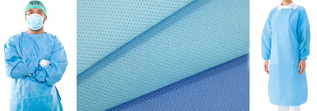 Халаты медицинские из нетканых материалов: комфорт и безопасность