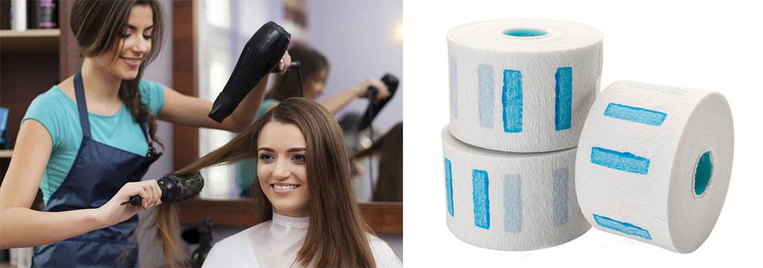 Воротнички бумажные для парикмахерских и салонов красоты